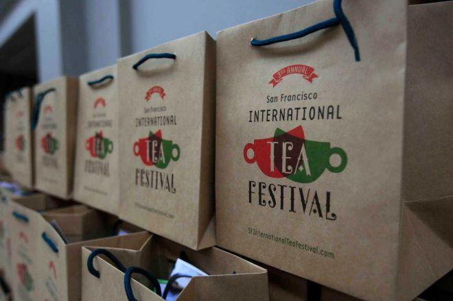 s.f. tea festival tea shopping bags