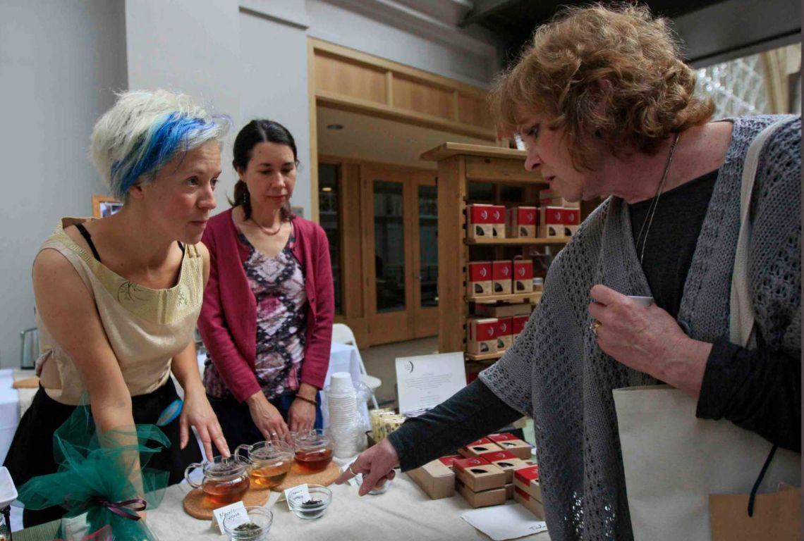 SF tea festival tea tasting