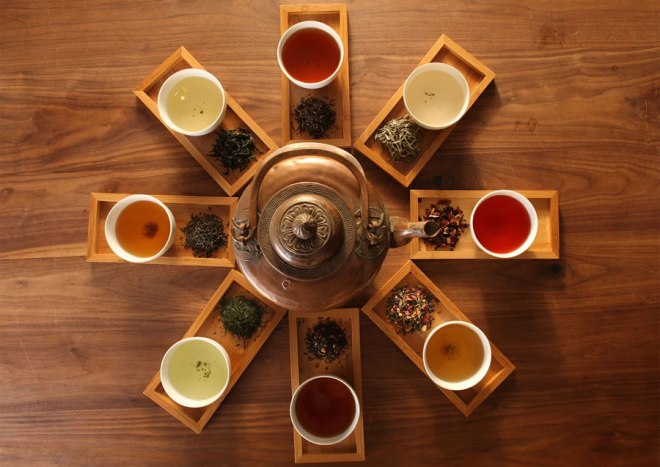 create your tea catalog