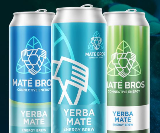 yerba mate branding matebros energydrink