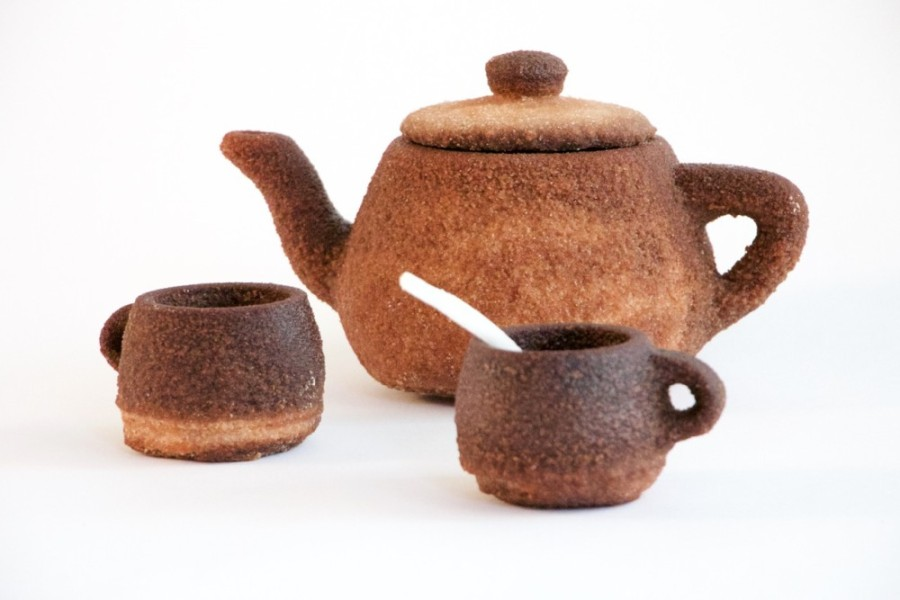 A 3D Printed Teapot Out OfTea?