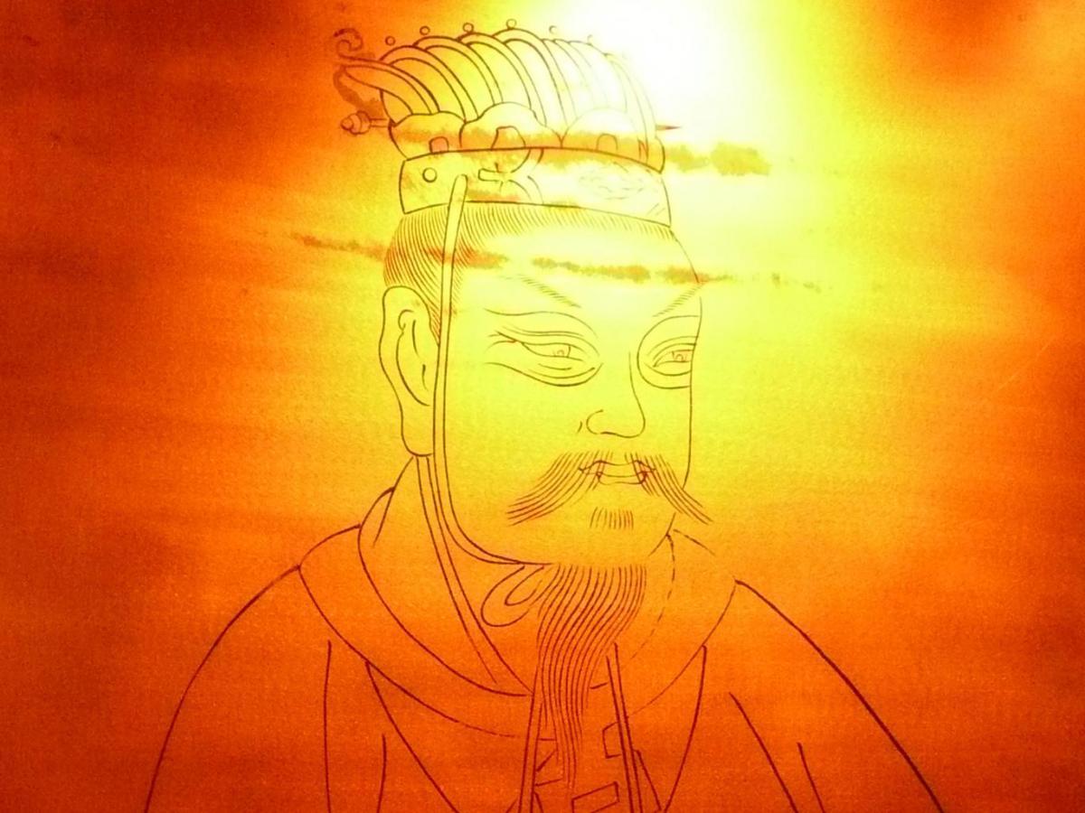 Han_Jingdi emperor 2150 old tea