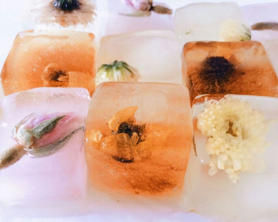 Herbal Tea Ice Cubes (T-Cubes)