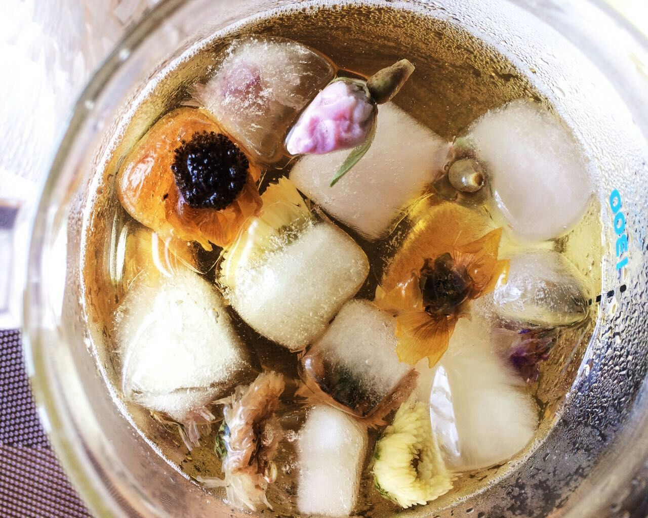 herbal tea cubes